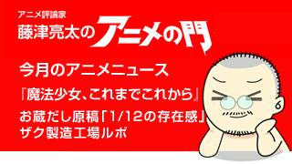 アニメ評論家・藤津亮太のアニメの門ブロマガ 第19号(2013/6/14号/月2回発行)