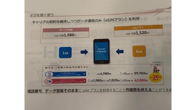 eSIMとキャリア契約の組み合わせでiPhoneを賢く安く使う 石川 温の「スマホ業界新聞」Vol.330