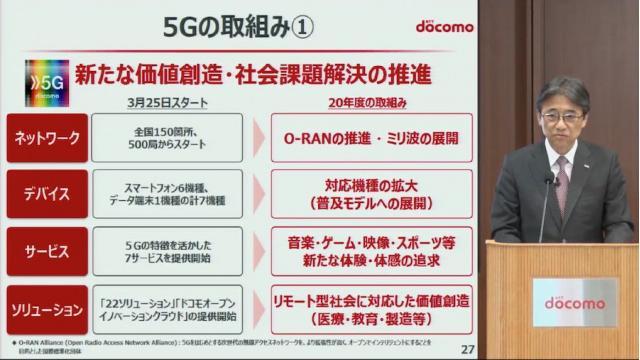 契約者4万超のドコモ5Gはリモート社会を加速できるか 石川 温の「スマホ業界新聞」Vol.370