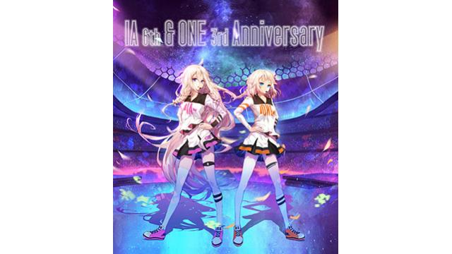 IA 6th & ONE 3rd Anniversary -Special Talk Live-のキービジュアル公開!