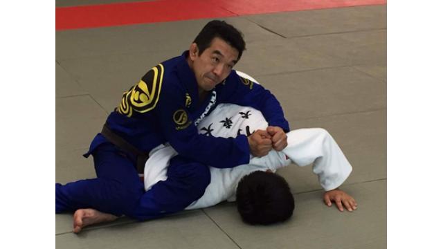 中井祐樹、柔道女子日本代表に寝技を指導する