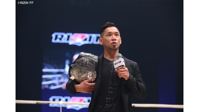 【RIZINバンタム級GP】石渡伸太郎「堀口選手がいなければ、出る価値はなかったかもしれない」