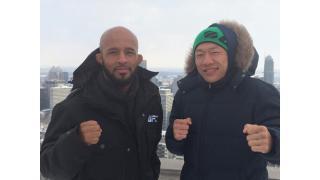 UFCタイトル挑戦の堀口恭司、決戦の地モントリオールでPR活動