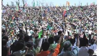 沖縄1万人抗議—「再び県民切り捨てか」