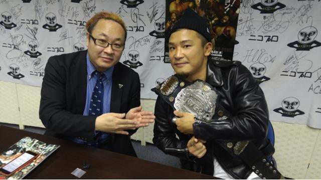 【タイムシフト公開中!】KUSHIDAインタビュー「ヒロムは最強のチャレンジャー」