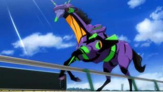 【画像アリ】JRAにウマンゲリヲン襲来!