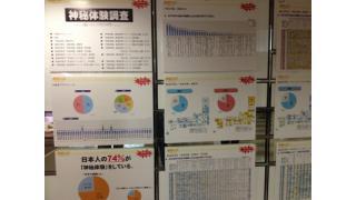 茨城県でUFOによる拉致続発!?「神秘の法」観に行ったらアンケートが凄かった件!!