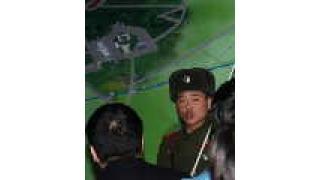 北朝鮮側から38度線を見た時の写真を公開しちゃうよ~「板門店」韓国との軍事境界線