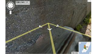 【画像アリ】Google軍艦島ストリートビューに「謎の手」が写り込んでいる…。