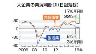 (有料)実体経済の悪化を示した日銀短観と、統計の疑いについて