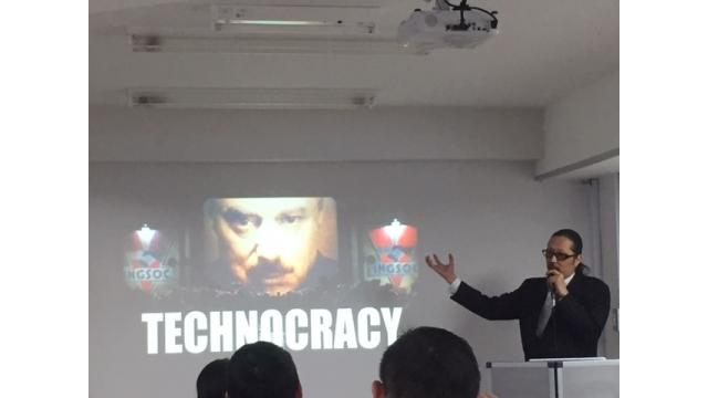 ジェイ・エピセンター氏の講演会 5Gや電子通貨の電子社会の到来による市民の生活管理に対する警鐘