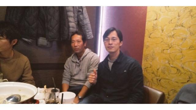 作家で金融研究家の安部芳裕さんと知人を集めて渋谷で忘年会を開催