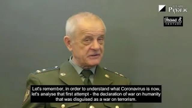 ロシア国営で報道された元軍情報局の大佐の警告を図解 闇の世界支配勢力が目論むパンデミック後の世界