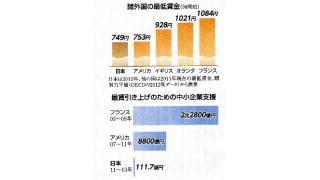 銀行貸出残高とマネーストックの増加でデフレ不況からの回復に好影響 最低賃金、福島、集団的自衛権から見る政府のヤバサ