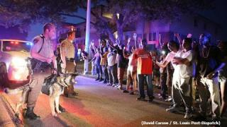 Twitter8月9~16日 警察の黒人青年射殺で全米で抗議が行われる。全米で暴動への懸念 「補足」高まる米国のカントリーリスクについて