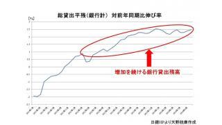 銀行貸出の残高が37ヶ月連続増加のもたらす意味と経済への影響