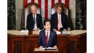 Twitter5月5~7日 米議会で国家主権を崩壊させるTPP締結の実現を強調する売国的発言を行った安倍首相
