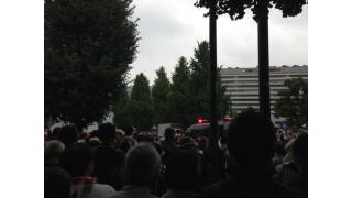 8月30日の国会前デモに参加。ファシスト的、カルト的、拝金主義的政策を進める安倍自公にNOの声