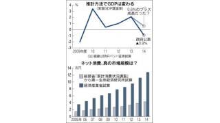 (有料)日本のGDPの統計が実態を下回っているという記事から考える統計の実態