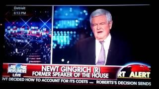 Twitter 3月2~9日 ギングリッチ前下院議長が、トランプ大統領候補は秘密結社に所属していないし入会儀式も受けていないと暴露