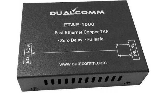 ETAP-1000 産業用ネットワーク向けゼロ遅延タップ