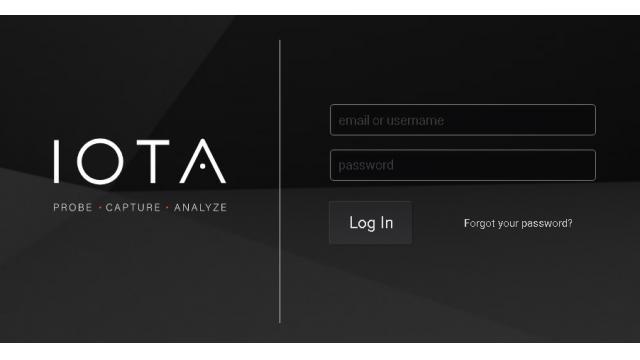 JAPAN IT WEEK 最終日 本邦初公開となるProfitap社 IOTAのオンラインデモンストレーションを行っています