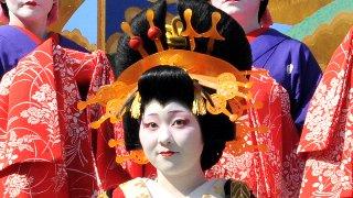 ヨシワラが吉原の花魁道中を見て参りました!