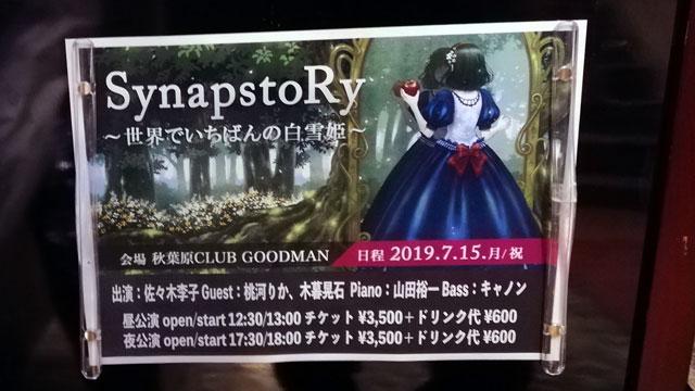「SynapstoRy ~世界でいちばんの白雪姫~」で佐々木李子さんの芝居と歌を堪能してみた!