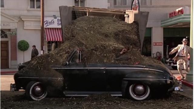 ワシントンから堆肥撤去 トランプ氏指示か