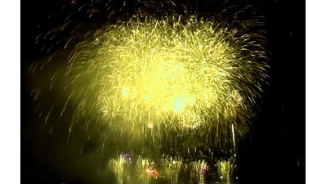 夜空に静かな大輪8千発 サイレント花火大会 兵庫・しじまヶ浜