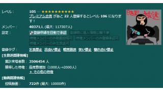 【ニコニコ生放送】只今、全コミュレベルが半額セール中!? 2013/07/15/13:00