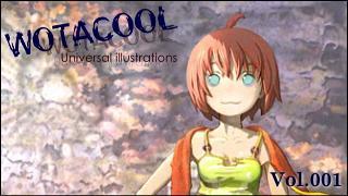 ユニバーサルイラストレーションズ「WOTACOOL」 Vol.001 田代ほけきょ @Japan