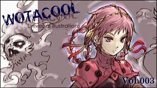 ユニバーサルイラストレーションズ「WOTACOOL」 Vol.003 tetsu @Japan