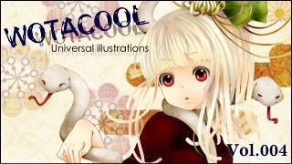 ユニバーサルイラストレーションズ「WOTACOOL」 Vol.004 東野あこ @Japan
