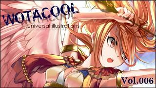 ユニバーサルイラストレーションズ「WOTACOOL」 Vol.006 mizu @Japan