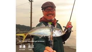 【レポート】34家邊克己の全国アジング行脚 第1回 愛媛県