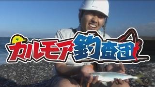 【レポート】伝統漁具で魚釣り!砂浜から調査