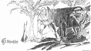 エルシャダイ原作小説P27ページの挿絵配布します。