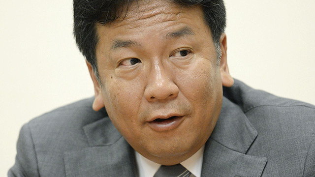 THIS WEEK【政治】解散を怖がり小権力に安住 枝野の座を脅かす山本太郎