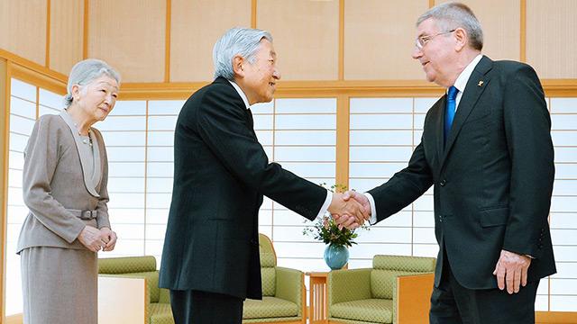 「天皇に会わせろ」バッハよ、何様だ IOC委員は小誌に「菅が中止を求めても開催する」
