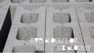 5ブロック?6ブロック? 3