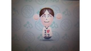 [TGS2014]3DS版『ニコニコ』の限定Tシャツ「I LOVE ニコニコ」をゲット!