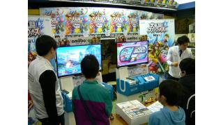GAMESマーヤで最強amiibo決定戦開幕『スマブラ for Wii U』で大盛り上がり!
