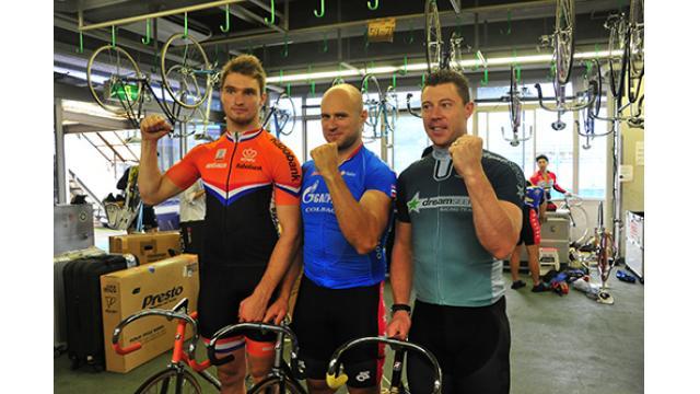 第3回国際自転車トラック競技支援競輪(GIII)前検日レポート