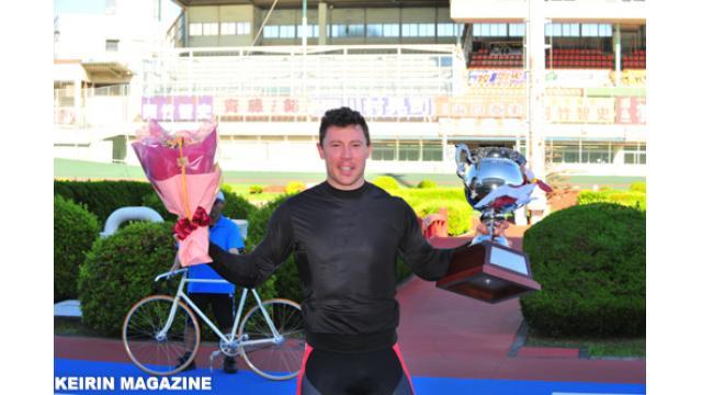 第5回国際自転車トラック競技支援競輪 優勝はパーキンス! エボリューションは永井清史!