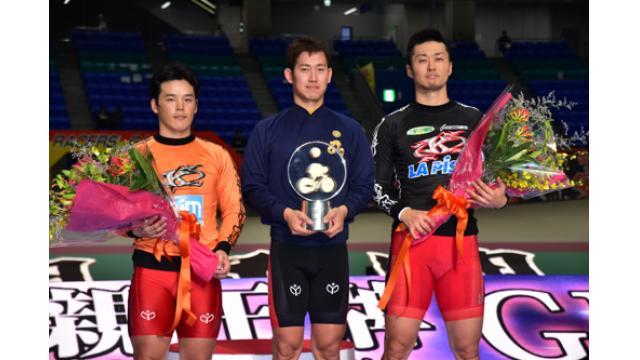 第27回寛仁親王牌・世界選手権記念トーナメント(GI)優勝はGI連覇の脇本雄太選手でした!