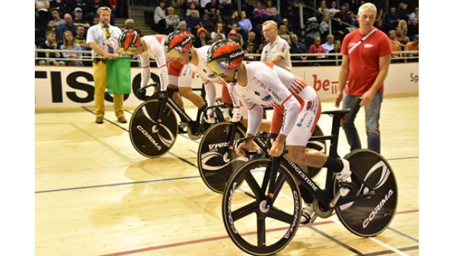 UCI トラック ワールドカップ ベルリン大会 1日目レポート 色々と。