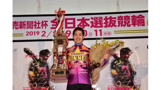 第34回全日本選抜競輪(GI)二日目スタールビー賞は松浦悠士