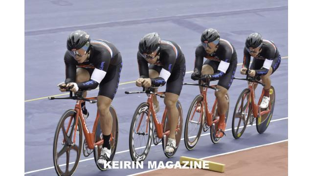 第66回全日本プロ選手権自転車競技大会トラック競技 4㎞男子チームパーシュート