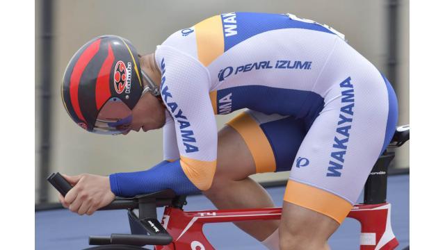 第66回全日本プロ選手権自転車競技大会トラック競技 1㎞タイムトライアル 比較